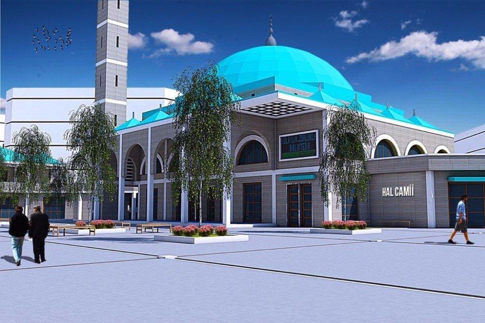 """Milletvekili Eldemir; """"Yeni Hal Camii'nin İhalesi 12 Eylül'de Yapılacak"""""""