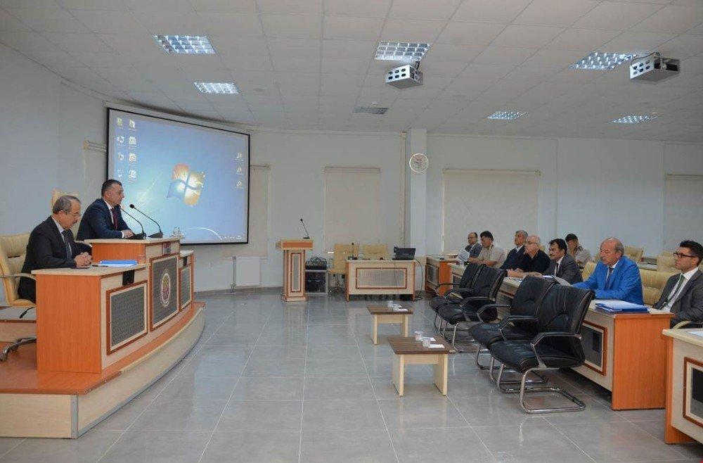 Ertuğrul Gazi'yi Anma Ve Söğüt Şenlikleri Koordinasyon Toplantısı Yapıldı