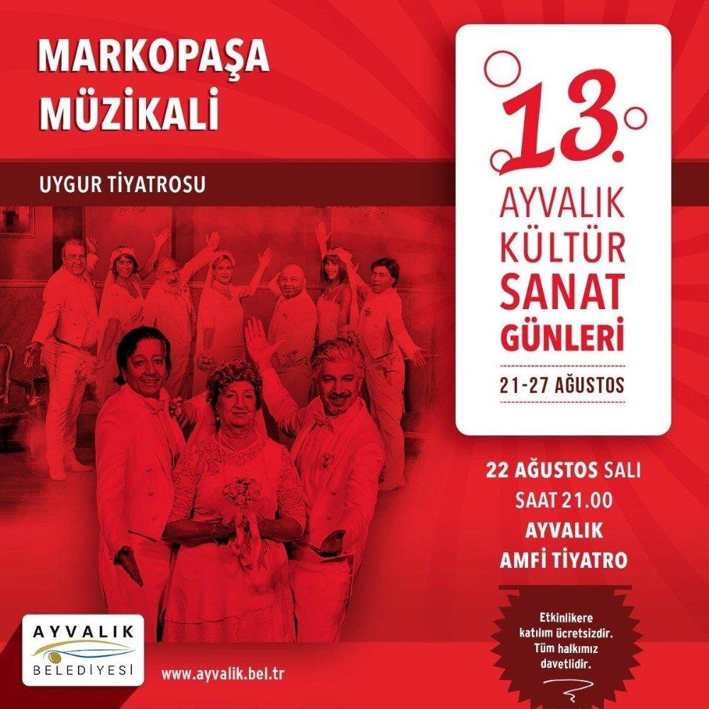 Uygur Kardeşler Marko Paşa Müzikali İle Ayvalık'a Geliyor