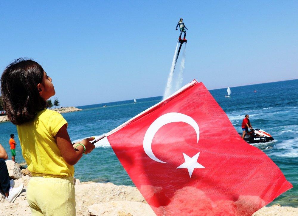 8. Van Denizi Su Sporları Festivali Başladı