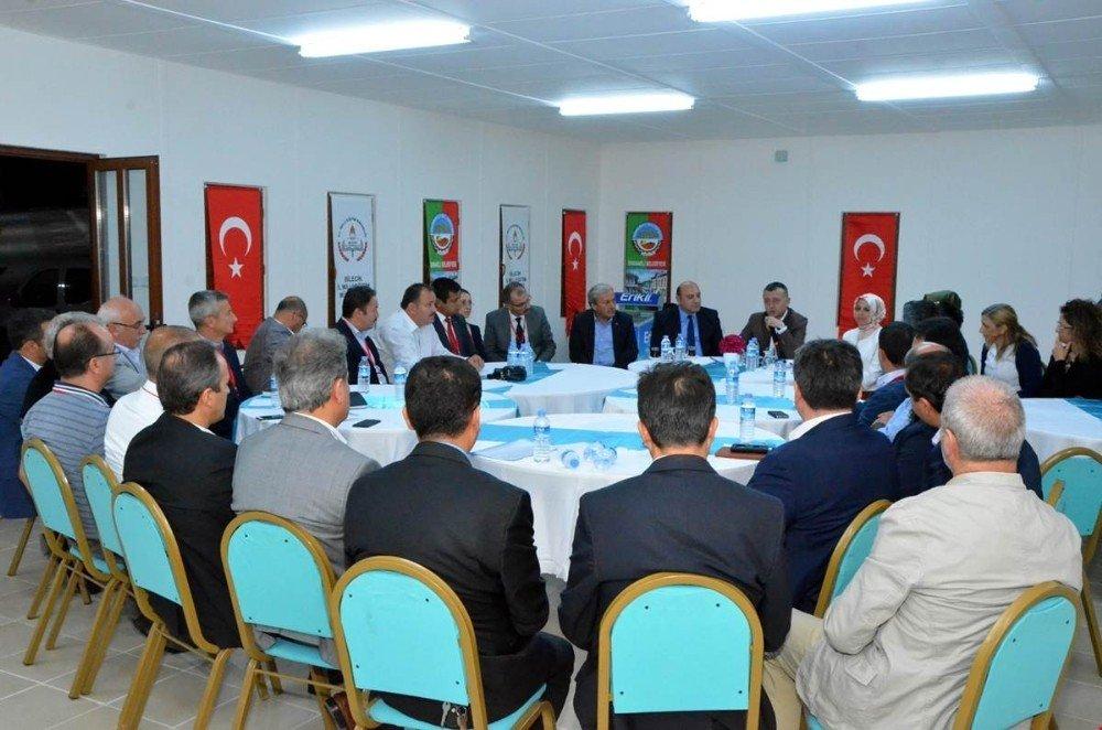 Osmaneli'de Yeni Eğitim Öğretim Yılı İçin ''Çalışma Ve Motivasyon'' Toplantısı