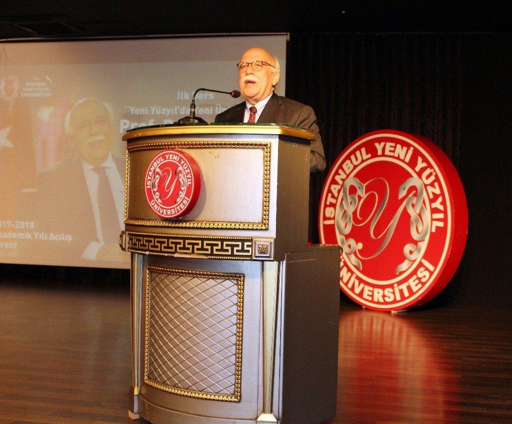 Yeni Akademik Yılın İlk Dersini Eski Bakan Rrof. Dr. Nabi Avcı Verdi