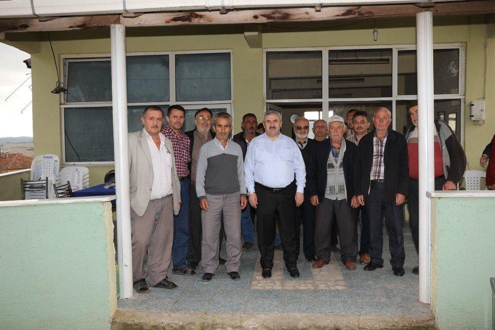 Başkan Baran Köylerdeki Projeleri İnceledi