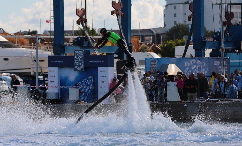 Turkcell Platinum Alaçatı Uluslararası Balıkçılık Turnuvası Sona Erdi