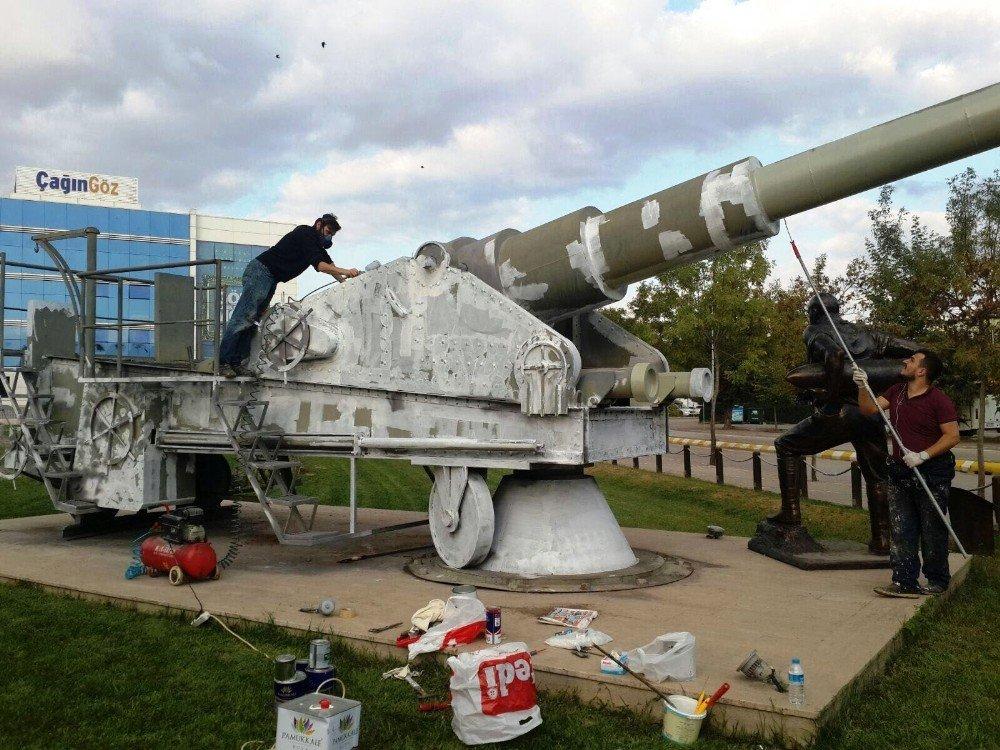 Kınalı Asker Parkı'nda Bakım Yapıldı