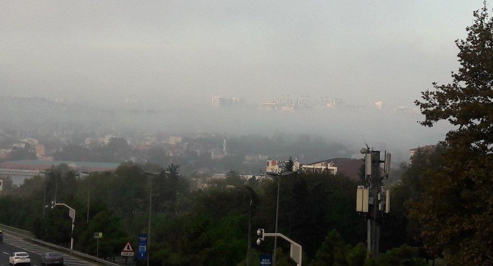 İstanbul'da Sis Manzarası Hayran Bıraktı