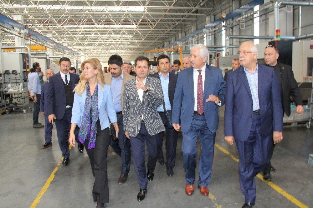 Tbmm Sanayi, Ticaret, Enerji, Tabii Kaynaklar, Bilgi Ve Teknoloji Komisyonu Başkanı Ziya Altunyıldız: