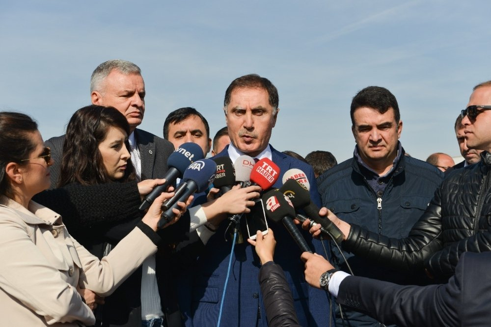 Şeref Malkoç Deniz Baykal'ı Ziyaret Etti