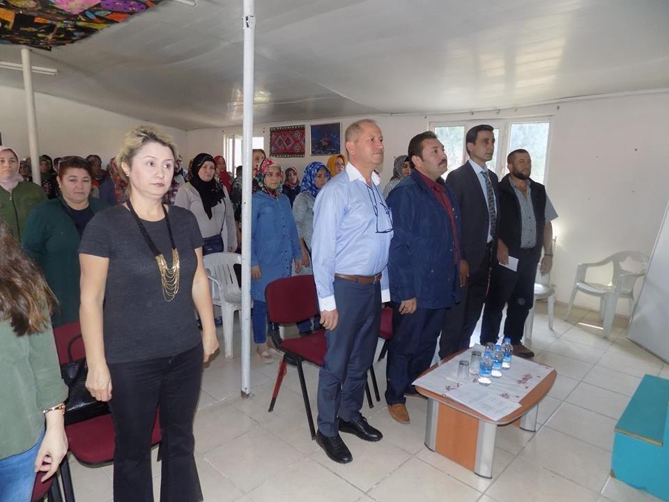 İlçe Milli Eğitim Müdürü Koç Okul Aile Birliği Toplantısına Katıldı