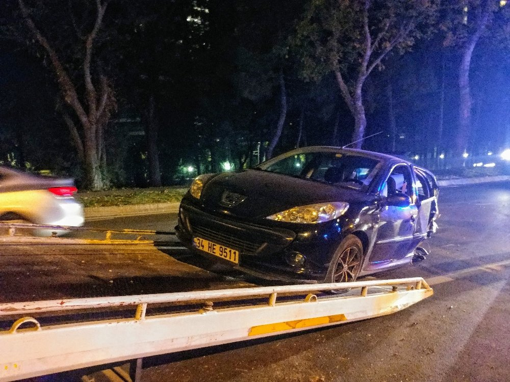 Sahil Yolunda Feci Kaza: 5 Yaralı