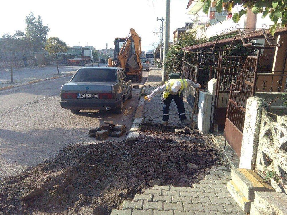 Körfez Belediyesi Bakım Ve Onarım Çalışmalarını Sürdürüyor