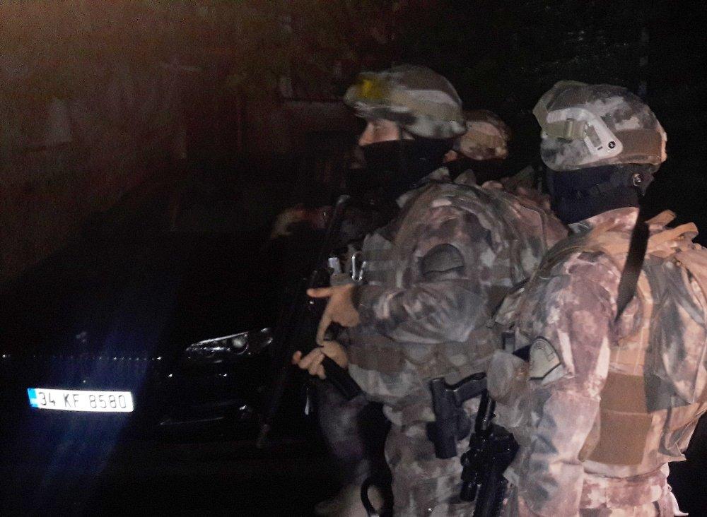 İstanbul'da 5 Adrese Narkotik Operasyonu