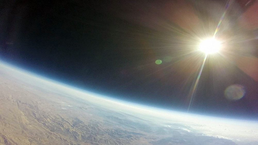 Liseliler Uzaydan Görüntü Çekti
