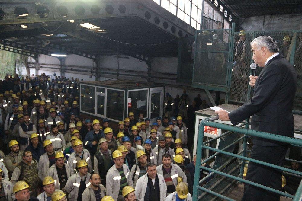 Madencilerden Torba Yasa Tasarısına Tepki
