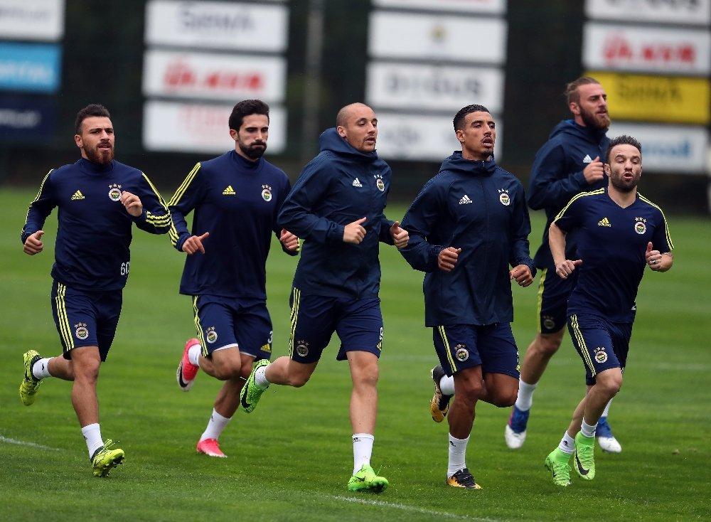 Fenerbahçe'de Kayserispor Mesaisi Sürdü