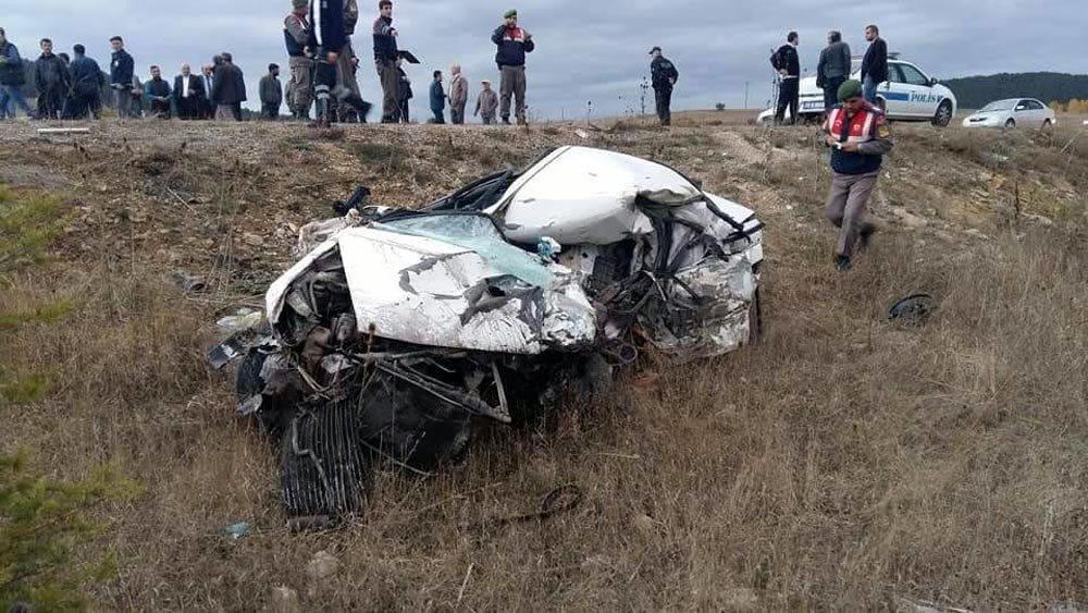 Karabük'te 3 Araç Çarpıştı: 1 Ölü, 5 Yaralı