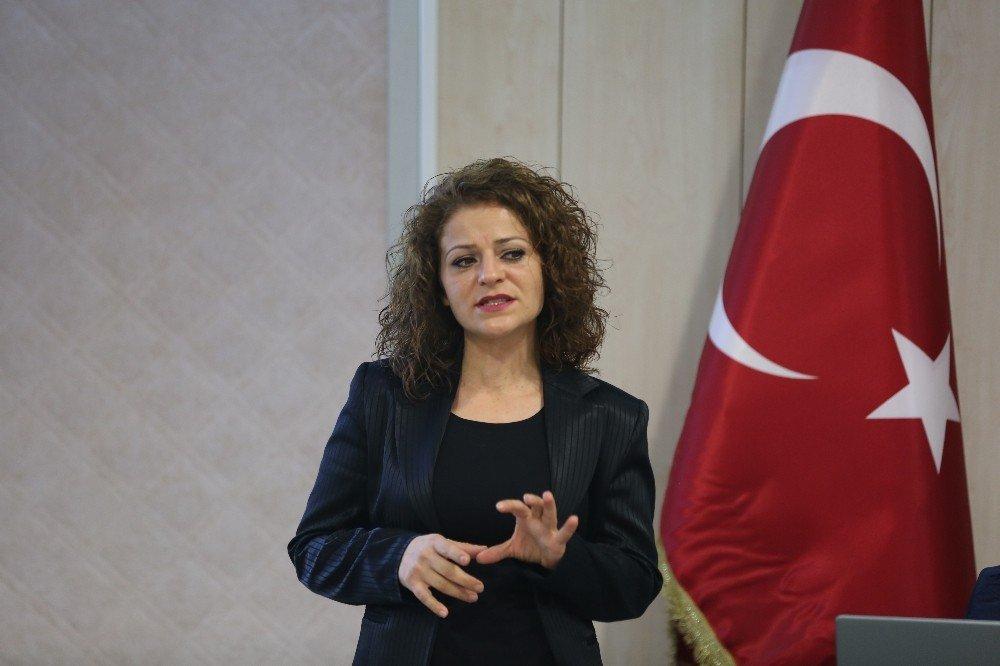 Başkan Dişli'den Stajyerlere Nasihat