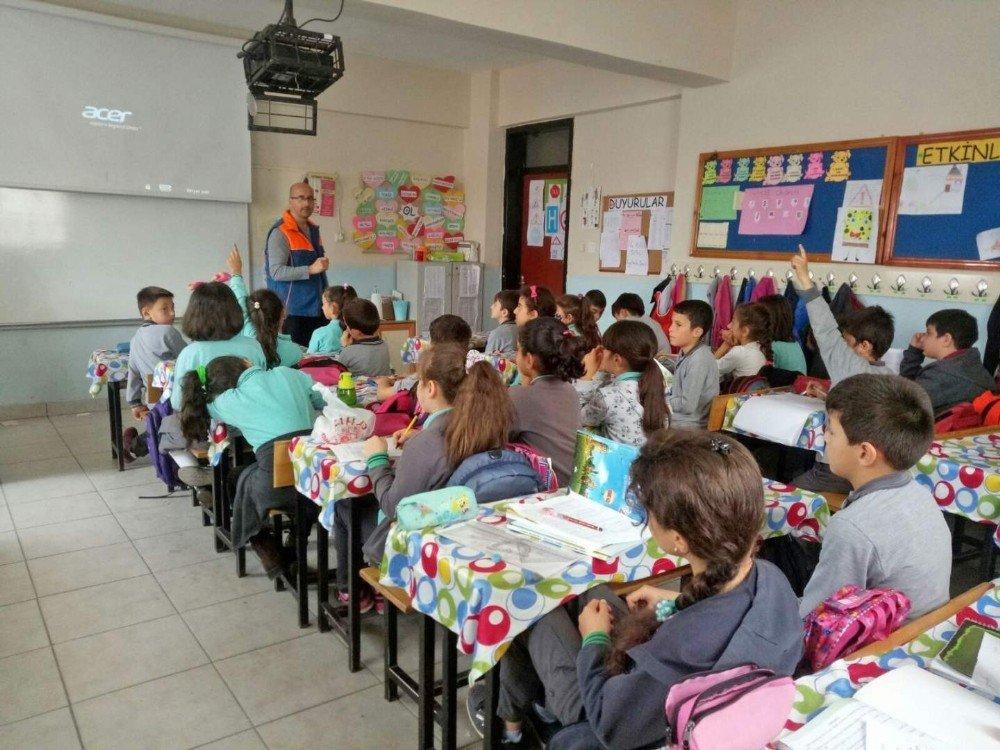 Afad Öğrencileri Olası Afetlere Karşı Eğitiyor