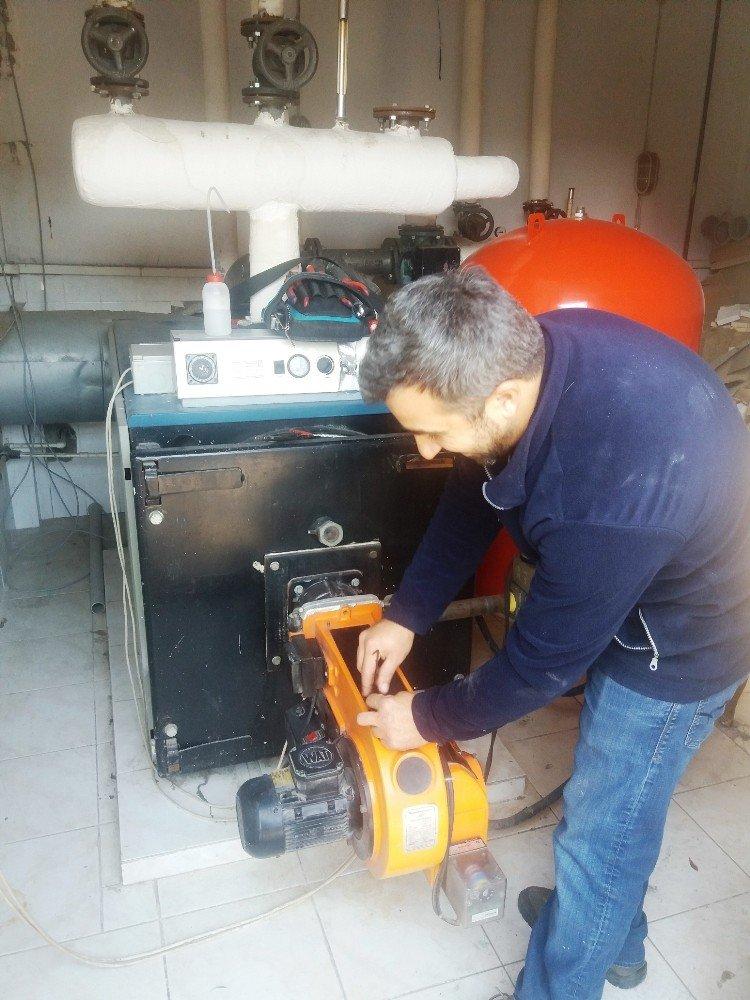 İzmit Belediyesi'nin Isıtma Sistemleri Bakımdan Geçti