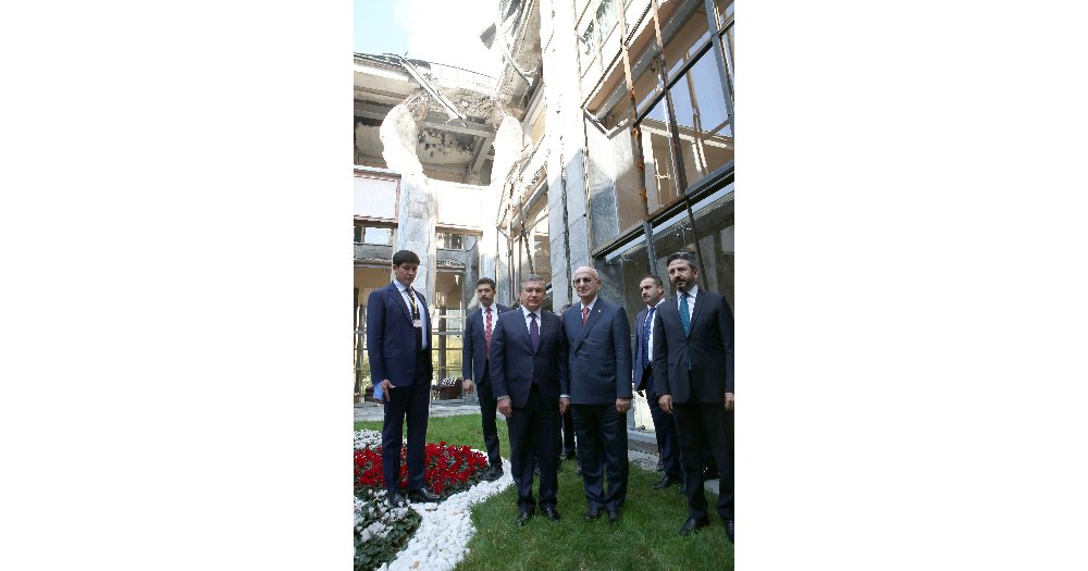 Özbekistan Cumhurbaşkanı Mirziyoyev Tbmm'de