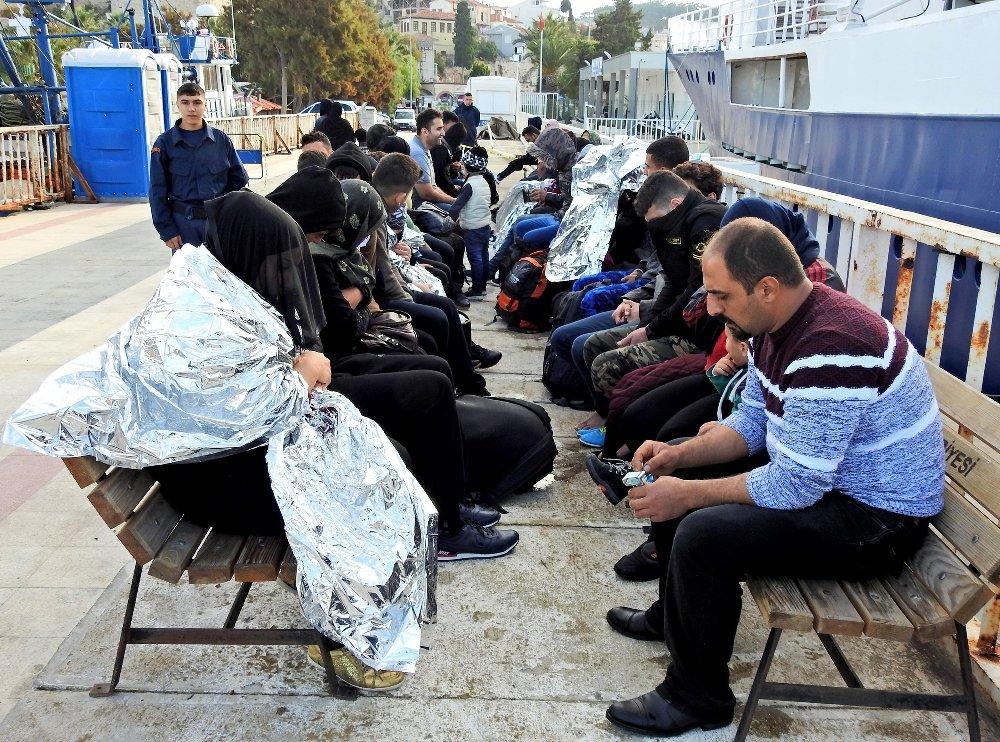 66 Kaçak Göçmen Son Anda Kurtarıldı
