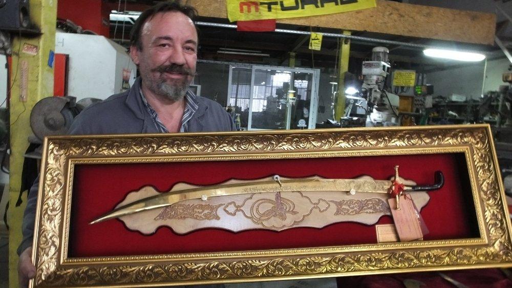 Kanuni'nin Kılıcını Erdoğan'a Hediye Etmek İstiyor