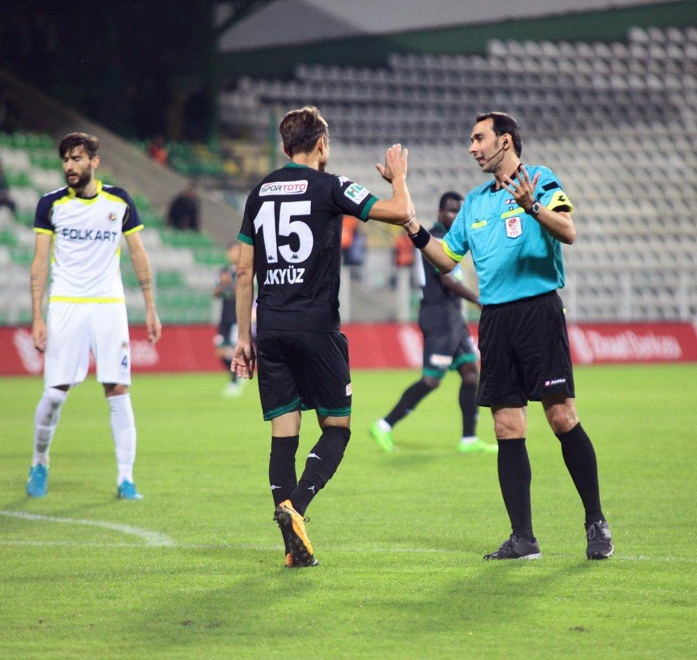 Akın Çorap Giresunspor Sahasında Kazandı