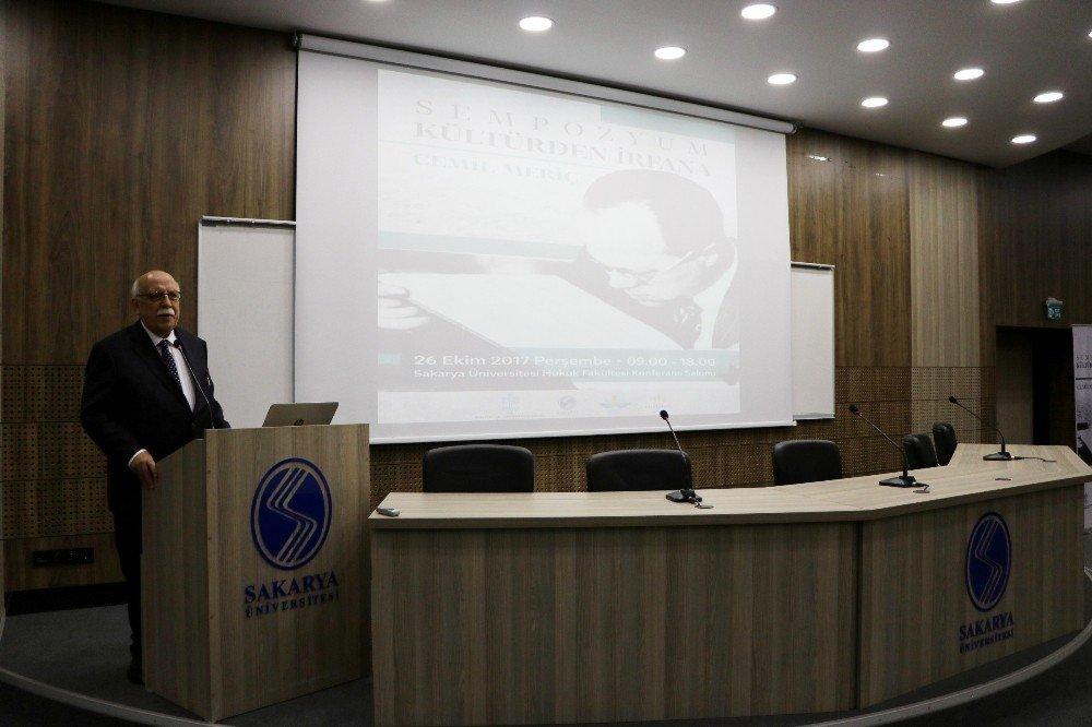 Prof. Dr. Yazar Ümit Meriç: