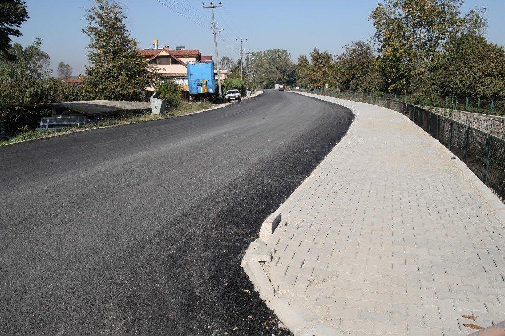 Güzlek Ve Pazarköy Mahallesinde Asfalt Çalışmaları Sona Erdi