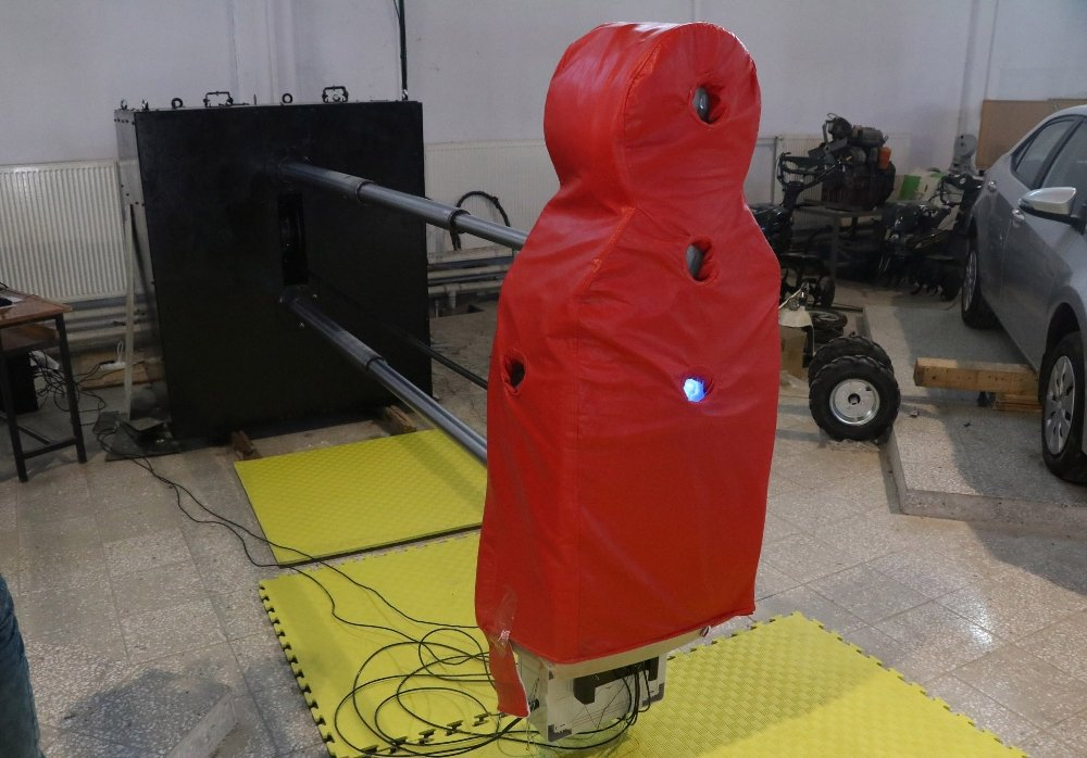 Türkiye'nin İlk Milli Ve Yerli Antrenman Robotu
