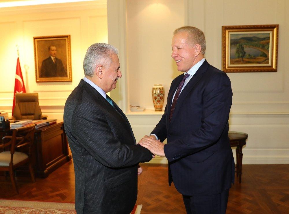 Yıldırım, Kosova Başbakan Birinci Yardımcısını Kabul Etti