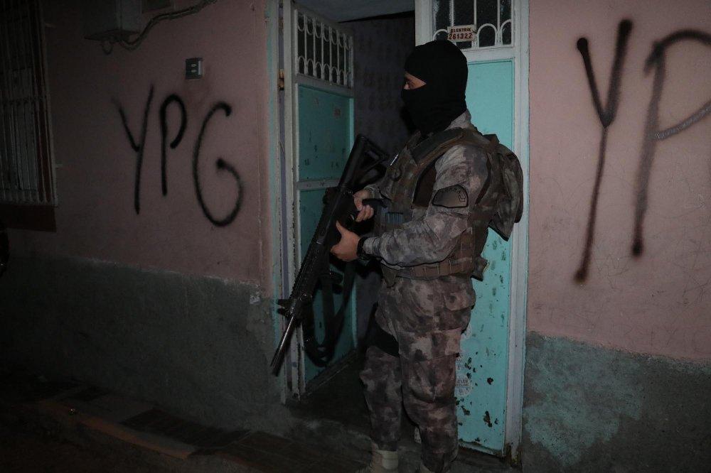 Adana'da Pkk/kck Operasyonu: 13 Gözaltı