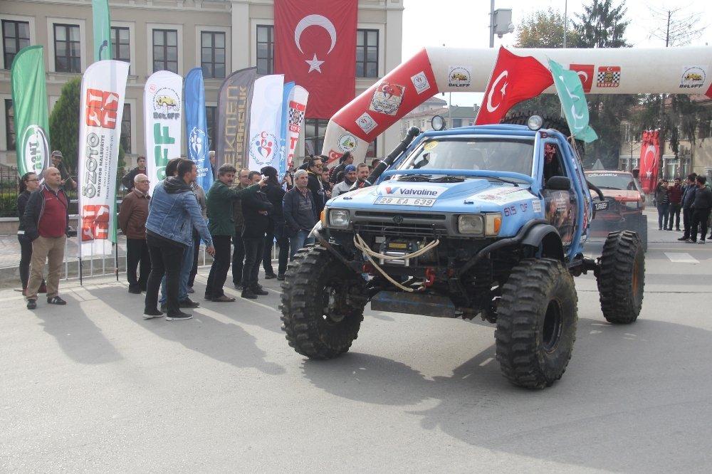 Türkiye Trial Şampiyonası Son Ayağı Bolu'da Başladı