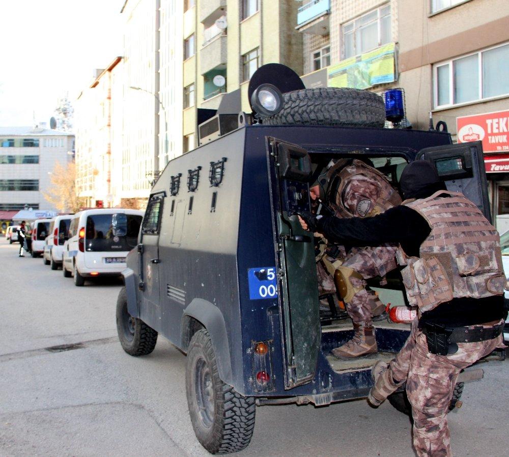 Erzurum'da Deaş Operasyonu: 22 Gözaltı