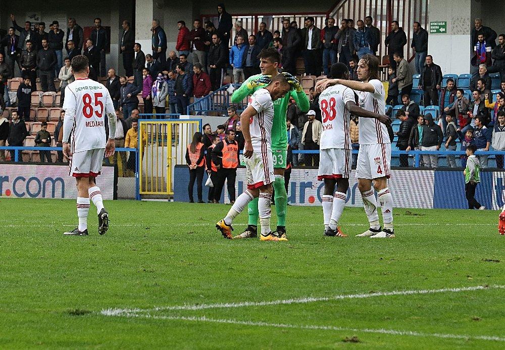 Sivaspor Deplasmanda Kazandı