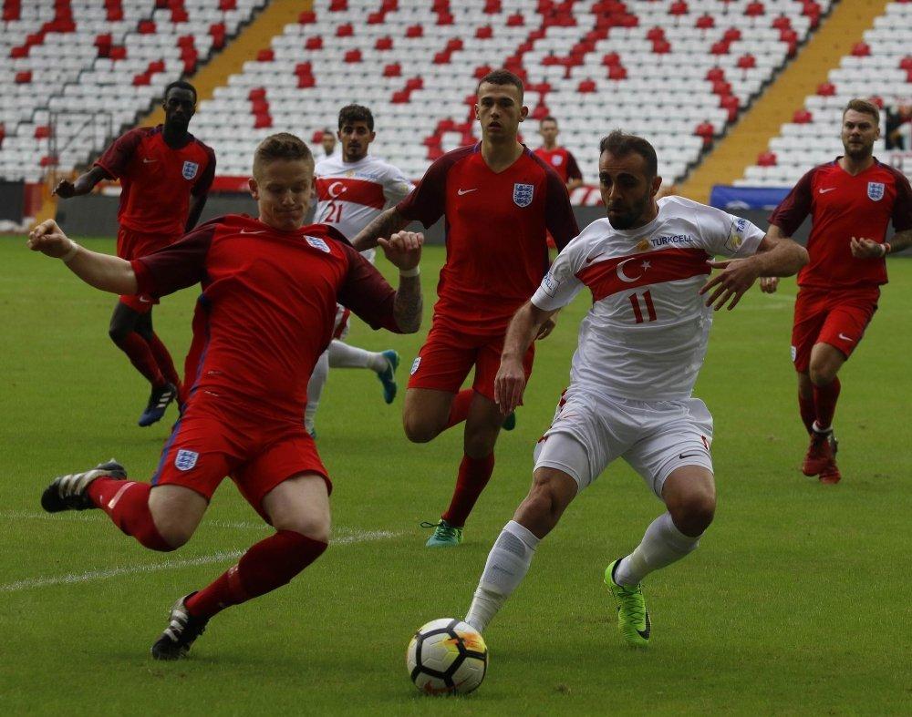 İşitme Engelli Milli Takım İngiltere'yi 5-0 Yendi