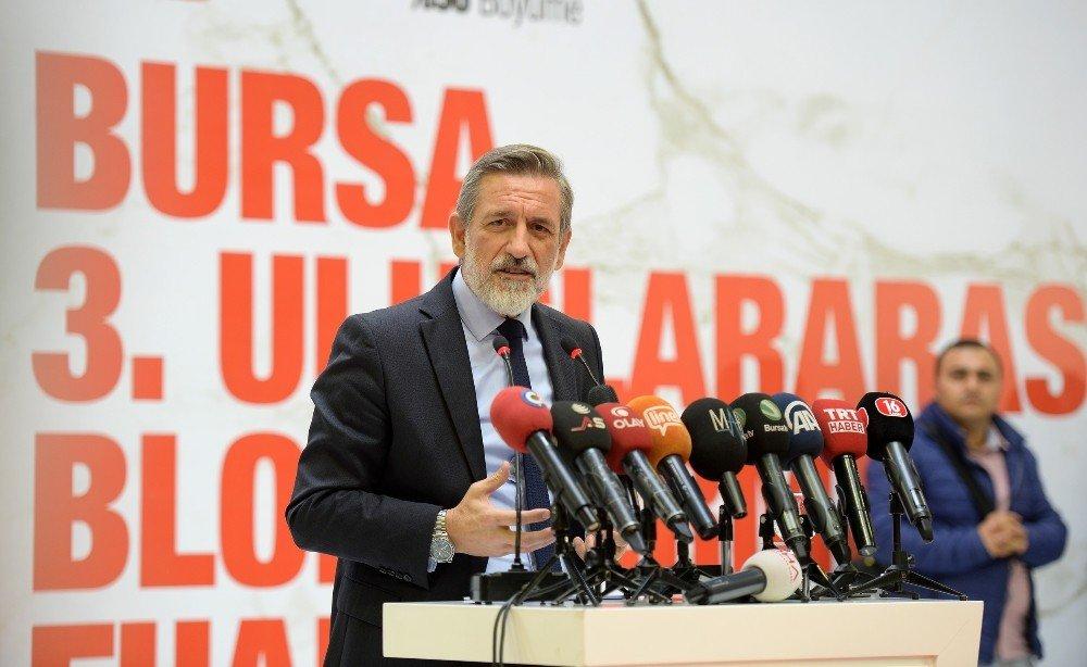 Blok Mermer İhracatına 'Bursa' Dopingi