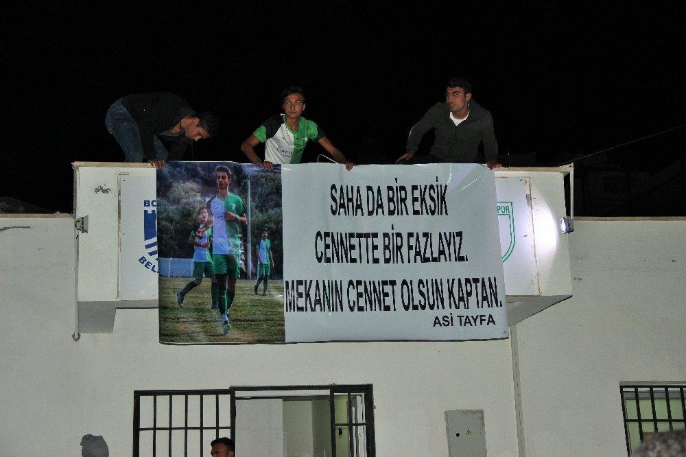 Genç Futbolcunun Ölümü Bodrum'u Yasa Boğdu