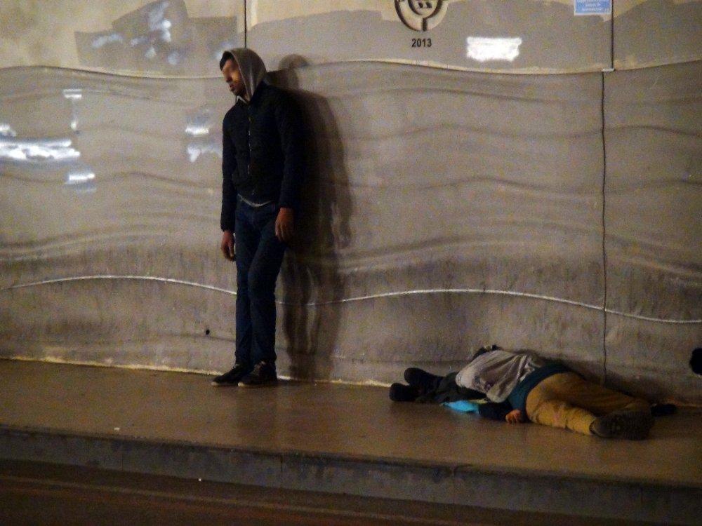 Taksim'de 'Bonzai' Dramı