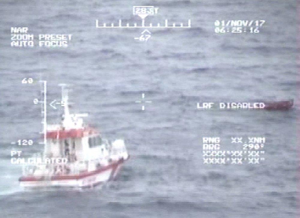 Şile Açıklarında Batan Geminin Enkazına Ulaşıldı