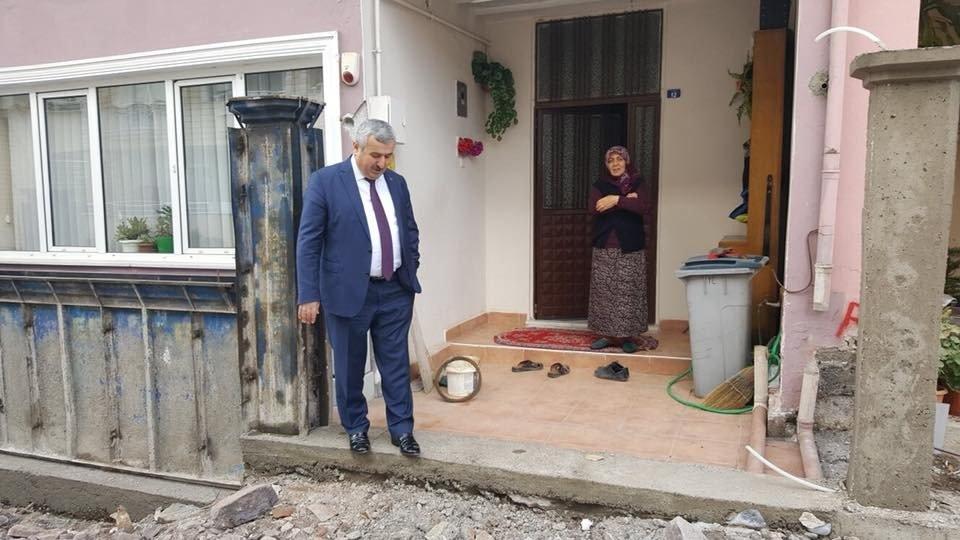 Başkan Baran, Çalışmaları Yerinde İnceledi