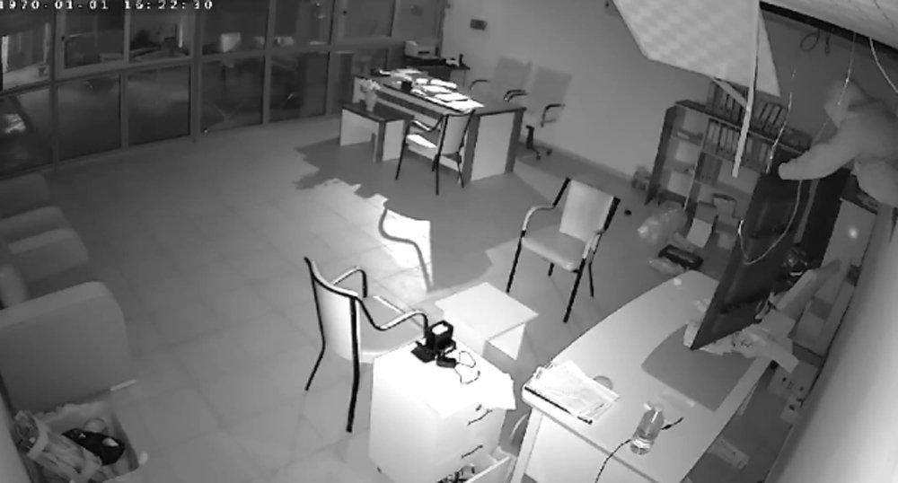 Sakar Hırsız İşbaşında
