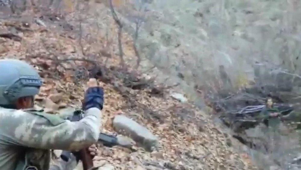 Gri Listedeki Teröriste İlk Müdahale Mehmetçikten