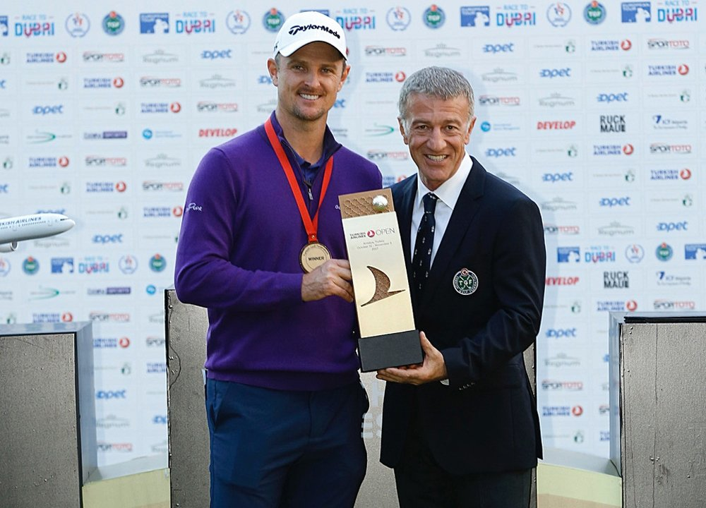 Turkish Airlines Open 2017'nin Şampiyonu Justin Rose