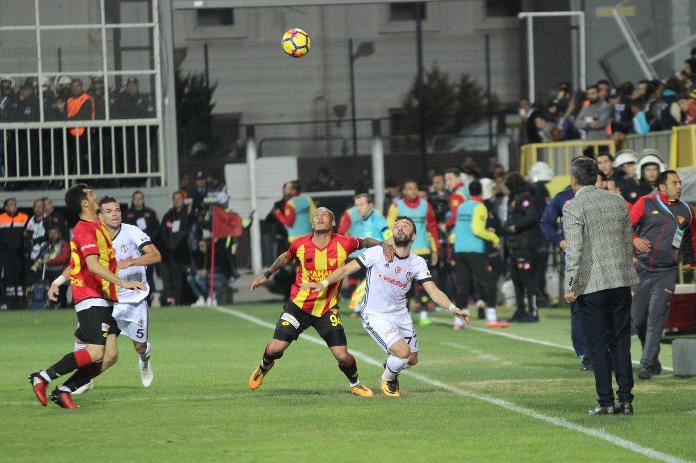 İlk Yarı Beşiktaş'ın