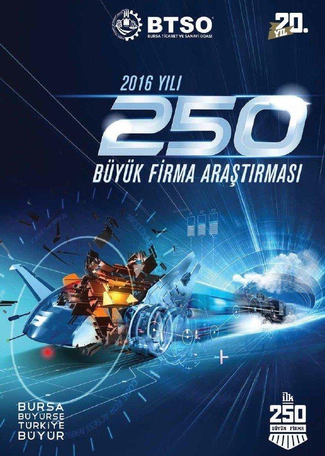 Bursa'da 'İlk 250 Büyük Firma' Araştırmasının Sonuçları Belli Oldu