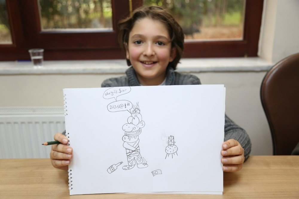 Karikatür Okulunda Dersler Başladı