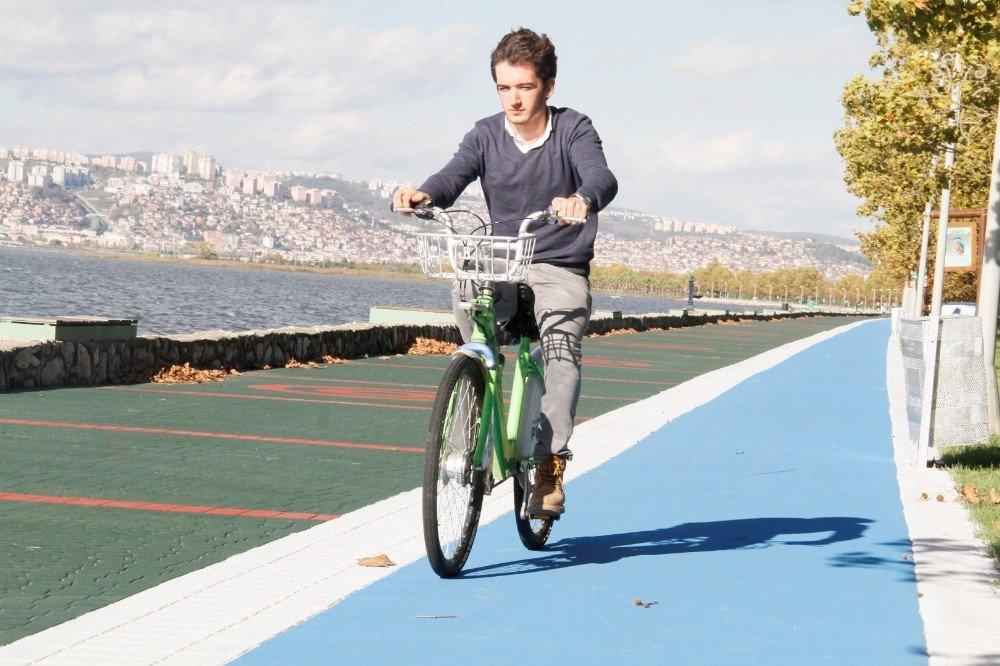Kocaeli'de Yürüyüş Ve Bisiklet Yolları Güzelleşiyor