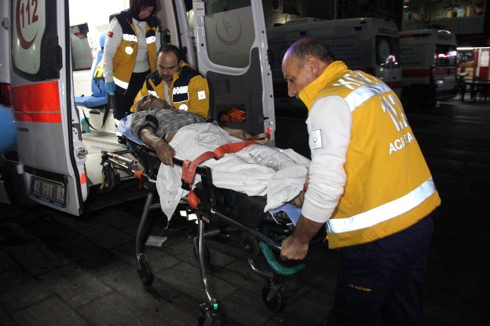 Uykusunda Maganda Kurşunuyla Yaralandı