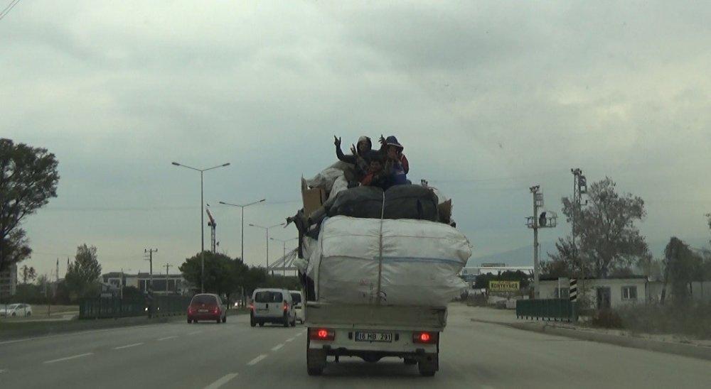 Trafikte Tehlikeli Yolculuk